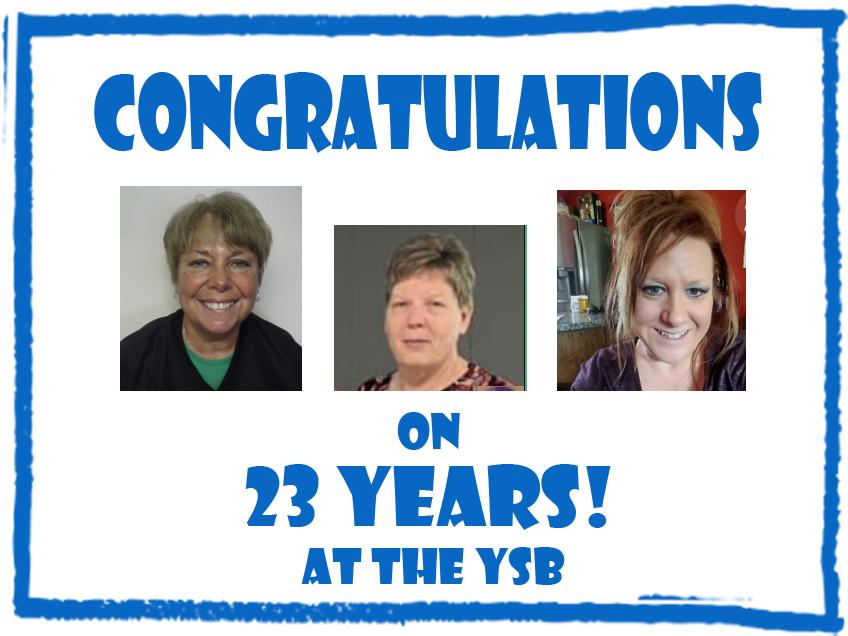 Congratulations to Linda Ashman, Tina Bechtol, and Stacy Blankenbaker